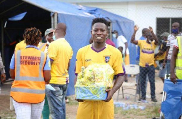 Rashid Nortey wins Medeama fan's player of the match award