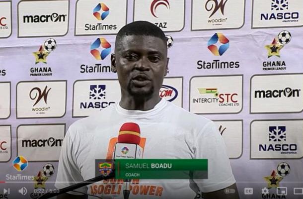 Samuel Boadu rewrites  Hearts of Oak's wrong to his own credit