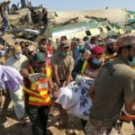 Dozens killed as two trains collide in Southern Pakistan