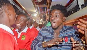 Hearts stops musician Kwame  Eugene from performing during Kotoko super clash