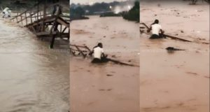 Kumasi flood: 50-year-old woman drowns after wooden footbridge collapses [Video]
