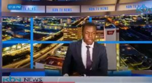 TV news presenter goes off script, demands for his salary during a live news report (VIDEO)