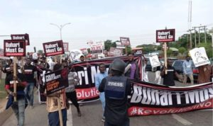 Nigeria: Police open tear-gas at protesters during June 12 protest