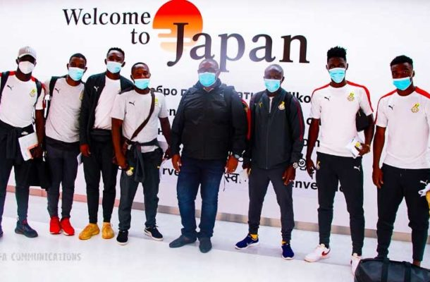 Coach Paa Kwasi Fabin names Black Meteors starting XI for Japan friendly
