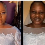 Bride takes off makeup because the church doesn't allow it – Makeup artist shares unusual encounter