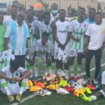 Clifford Aboagye donates to Inter Allies' youth side Cedar Stars