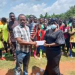 Techiman North MP supports Juvenile/Colt football in her constituency