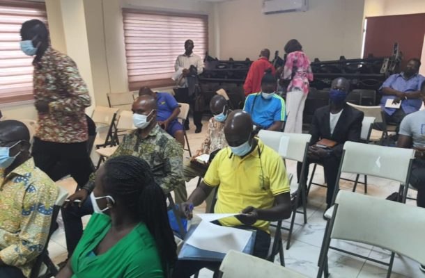 Newly Recruited Match Commissioners trained in Greater Accra