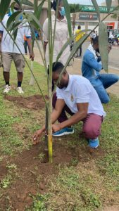 PHOTOS: NSA Ashanti joins PIWC Bompata in tree planting project