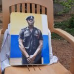 Father of slain police officer speaks; appeals for justice for his son