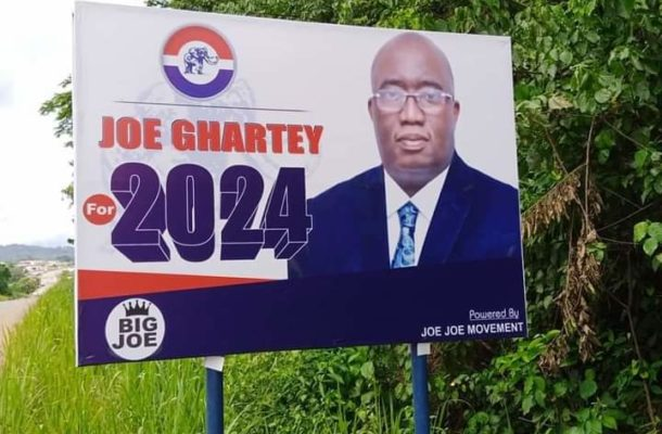 The campaign for NPP Flag bearer intensifies