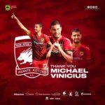 OFFICIAL: Kotoko confirms departure of Brazilian striker Michael Vinicius