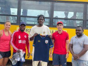 PHOTOS: Mohammed Salisu donates to former side Africa Talent Academy