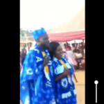 VIDEO: Ghanaian couples do their wedding with full Chelsea FC clothes