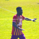 'Kings' of protest Great Olympics hit back at Hearts with protest against Emmanuel Nettey