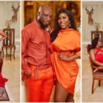 VIDEO: Nkonkonsa and actress wife Victoria Lebene renew marriage vows in the midst of storm