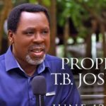 Social media pays tribute to the late Nigerian prophet T.B Joshua