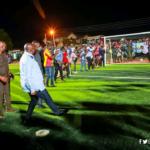Vice president Bawumia commissions new astro turf for Adjiringanor community