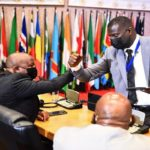 Annoh-Dompreh calls for peace as chaos erupt at Pan-African Parliament