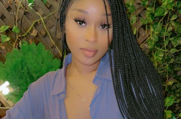 Efia Odo deactivates her Twitter account after netizens claim Hudson-Odoi will f*ck her first