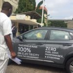 Energy Minister receives Ghana's first electric vehicle