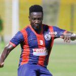 Asamoah Gyan set to miss crunch Hearts fixture