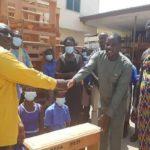 Kwahu East DCE donates 800 desks to schools
