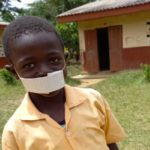 NCCE inspires Class two pupil who designed nose mask with paper and rubber band