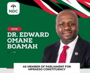 """Be proud of the NDC because """"development is our goal - Dr. Omane Boamah writes"""