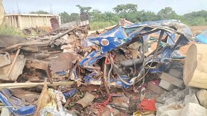PHOTOS: Four persons, nine cattle die in gory accident at Kwanwoma Afrancho