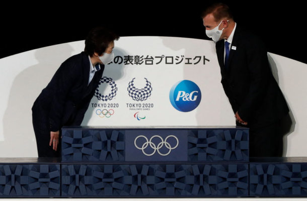 Tokyo 2020 unveil medal ceremony podium for Olympics and Paralympics