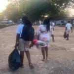 Achimota students jubilate upon seeing Rasta student on campus