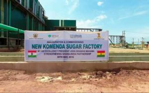 Trade Ministry to finalize agreement on Komenda Sugar Factory