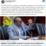Madina MP 'foolishly courageous' - Ras Mubarak