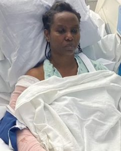 Haiti First Lady Martine shares photos from hospital bed after attack as she mourns murdered husband