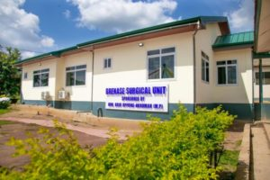Photos: Ofoase Ayirebi MP provides 1st medical theatre to support 1st doctor