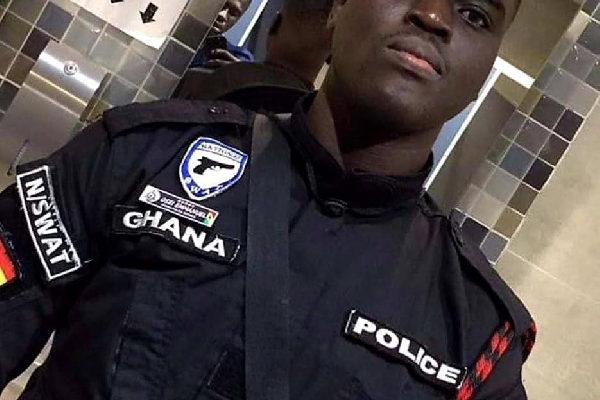 Policeman killed in bullion van robbery promoted