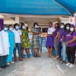 Employees of Hollard Ghana support the Trust Mother and Child Hospital