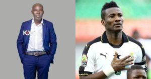VIDEO: Asamoah Gyan desperate to meet 'mona mo bl3' originator Samuel Kofi Ampofo