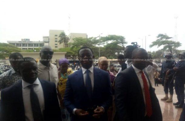 Supreme Court stops Justice Honyenuga from hearing Opuni case