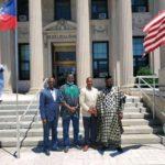 Dr Mustapha Ahmed woos American Mayor to visit Ghana