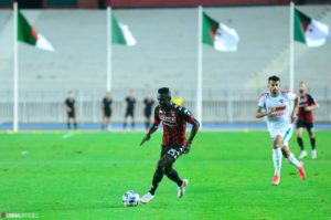 VIDEO: Watch Kwame Opoku as he scores for USM Alger in league win
