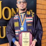 Van Vicker graduates from AUCC with first class 21 years after completing SHS