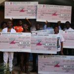 CSIF-Ghana presents 10,000 dollar cash award to 10 student start-ups in Northern Ghana
