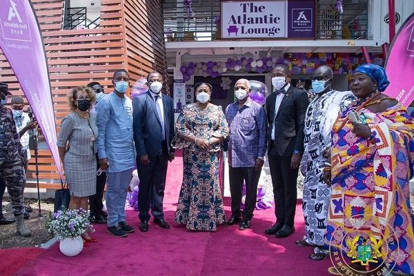 First Lady opens First Atlantic Paediatric Intensive Care Unit waiting area for Korle Bu Hospital