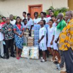 GHALCA donates items to Hasaacas Ladies ahead of Champions League match