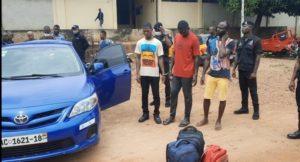 2 suspects in Ho Police custody linked to Mamfe robbery