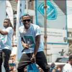 Shatta Wale storms Circle Market for the Infinix July invasion