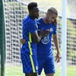 Forgotten man Baba Rahman provides an assist in Chelsea preseason friendly