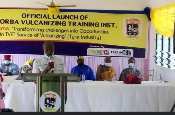 Ghana's first private Vulcanizing Institute launched